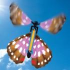 Flatternder Spielzeug Schmetterling