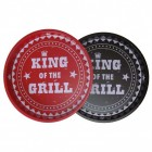 King of the Grill Serviertabletts im 2er Set