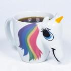 Einhorn Kaffeebecher mit Wärmeeffekt