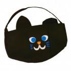 Halloween schwarze Katze Korb für Süßigkeiten
