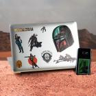 Star Wars The Mandalorian Sticker für Laptop, Smartphone und Tablet im 29er Set