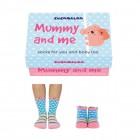 Mama und Ich Cucamelon Socken für Mutter und Tochter (2 Paar)