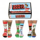 Santa Banter Weihnachten Oddsocks Socken in 39-46 im 6er Set