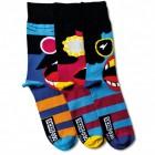 Verrückte Socken Oddsocks Barry für Männer im 3er Set