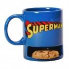 Superman Kaffeebecher mit Keksfach