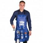 Männer Kochschürze mit 6 Taschen