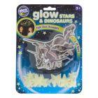 Dinosaurier und Sterne Leuchtsticker im 43er Set
