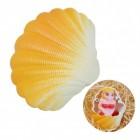 Züchte eine Meerjungfrau Scherzartikel in oranger Muschel