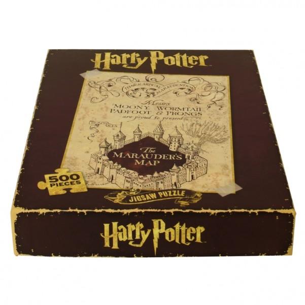Karte Des Rumtreibers.Harry Potter Karte Des Rumtreibers Puzzle Mit 500 Teilen