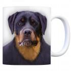 Kaffeebecher mit Rottweiler Motiv