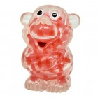 Affe Stressball in rot