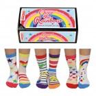 Über dem Regenbogen Oddsocks Socken in 27-30,5 im 6er Set