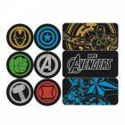 Marvel Avengers Kühlschrankmagnete im 9er Set