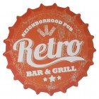 Retro Bar & Grill Kronkorken Platzset