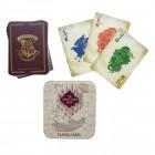 Harry Potter Karte des Rumtreibers Spielkarten in schöner Blechdose