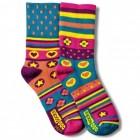 Paar Oddsocks Spring Socken für Frauen