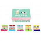 Molly & Lulu Cucamelon Socken für Babys (5 Paar)