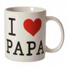 I Love Papa Kaffeebecher