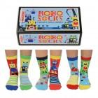 Robo Socks Roboter Oddsocks Socken in 27-30,5 im 6er Set