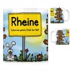 Rheine - Einfach die geilste Stadt der Welt Kaffeebecher