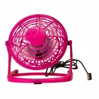 Mini Ventilator mit USB in pink
