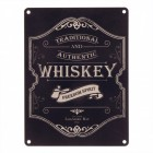 Das Whiskey Logo Metallschild in 15x20 cm