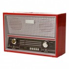 Retro Radio Spardose in rot