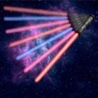 Lichtschwert Spielzeug mit Licht und Sound