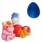 Züchte dein eigenes Einhorn Scherzartikel mit Ei in blau