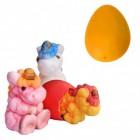 Züchte dein eigenes Einhorn Scherzartikel mit Ei in orange