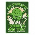 Star Wars Yoda Blechschild in 15x20 cm