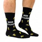 Bierglas Beer Stalker Socken in 39-46 im Paar