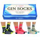 Gin Tonic Socken mit Geschenkverpackung in 37-42 (3 Paar)
