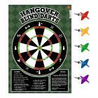 Hangover Blind Darts Trinkspiel mit 65 Dartpfeil-Aufklebern