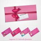 Liebesgutscheine Gutscheinbuch mit 12 Gutscheinen für Frauen