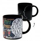 Alfred Hitchcock Kaffeebecher mit Wärmeeffekt