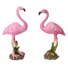 Flamingo Gartenfigur