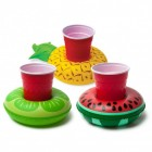 Ananas Wassermelone Limette Getränkehalter im 3er Set