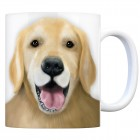Kaffeebecher mit Golden Retriever Motiv