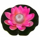 Seerose LED Dekolampe für die Badewanne in rosa