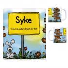Syke - Einfach die geilste Stadt der Welt Kaffeebecher