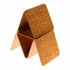 Die Kartenhaus Untersetzer aus Pappe im 12er Set