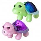 Schildkröte mit Pailletten Kuscheltiere im 2er Set