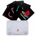 PlayStation Spielkarten in schöner Blechdose