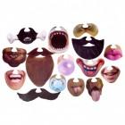 Gesichts-Masken Foto Verkleidungen im 15er Set