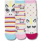 Baby Einhorn Socken in 27-30 im 3er Set