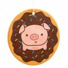 Schwein im Donut Lufterfrischer