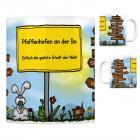 Pfaffenhofen an der Ilm - Einfach die geilste Stadt der Welt Kaffeebecher