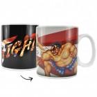 Street Fighter E. Honda vs. Zangief Kaffeebecher mit Wärmeeffekt