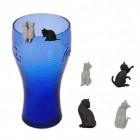 Katzen Glasmarkierer im 6er Set